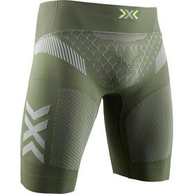 X-Bionic Twyce G2 Hardloop Shorts Heren, olijf